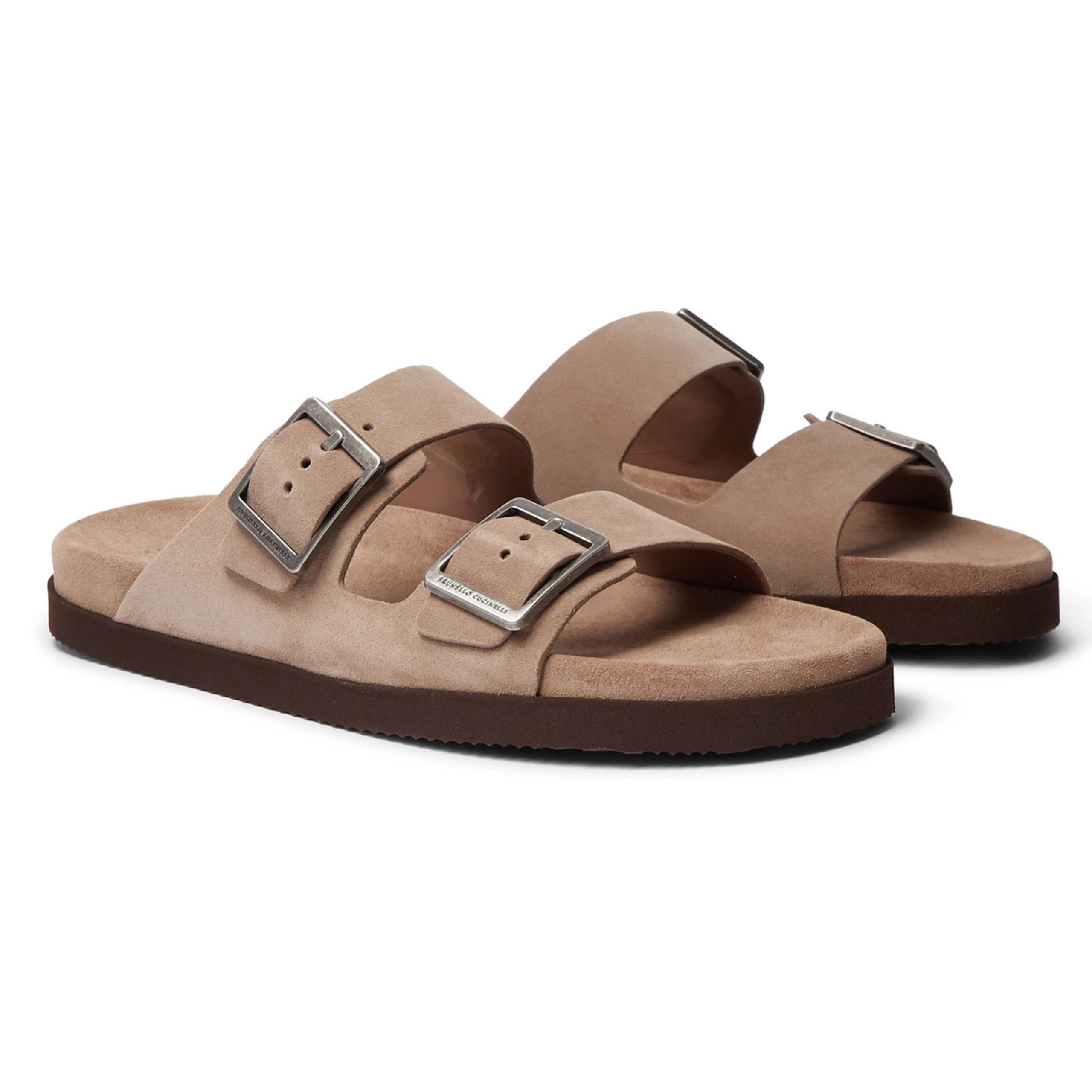 Brunello Cucinelli Suede Sandals