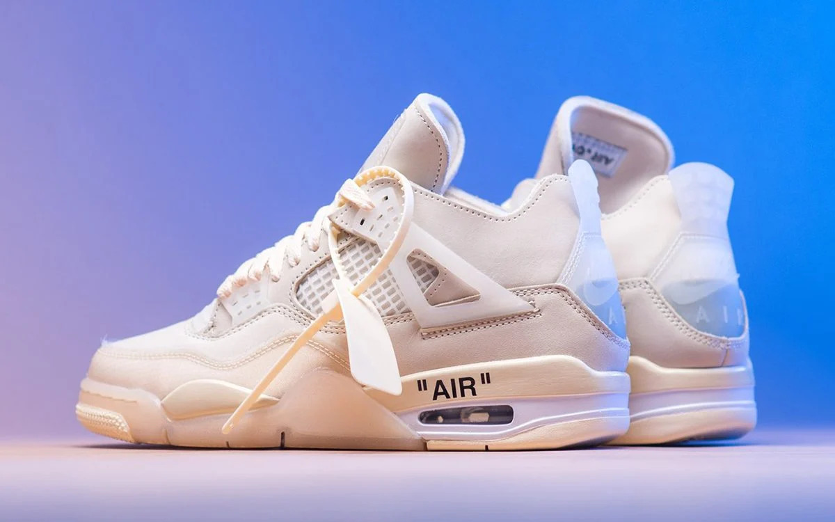 Best Sneakers 2020: Off-White X Air Jordan 4 Sail