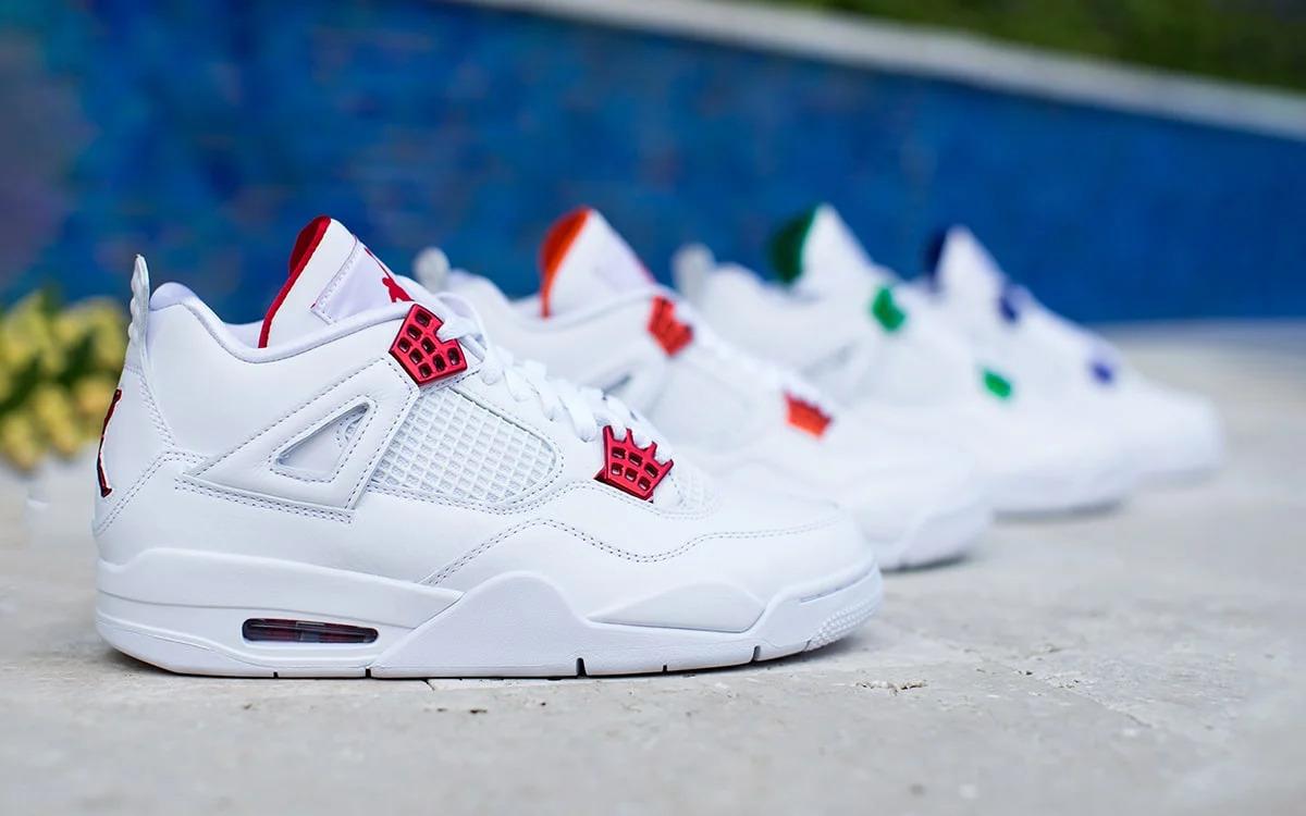 "Best Sneakers 2020: Air Jordan 4 ""Metallic Pack"""