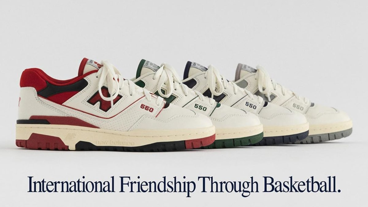 Best Sneakers 2020: Aime Leon Dore X New Balance P550 Basketball Oxford