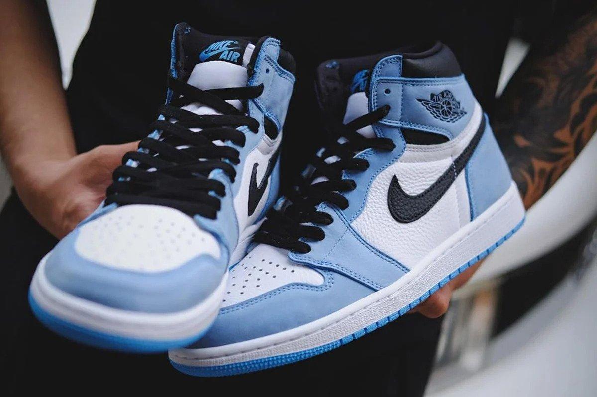 "Sneaker Releases 2021: Air Jordan 1 High ""University Blue"""