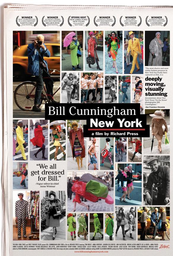Die besten Fashion Dokus aller Zeiten: Bill Cunningham New York