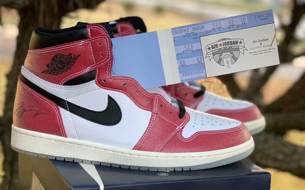 "Sneaker Releases 2021: Trophy Room x Air Jordan 1 ""Chicago"""