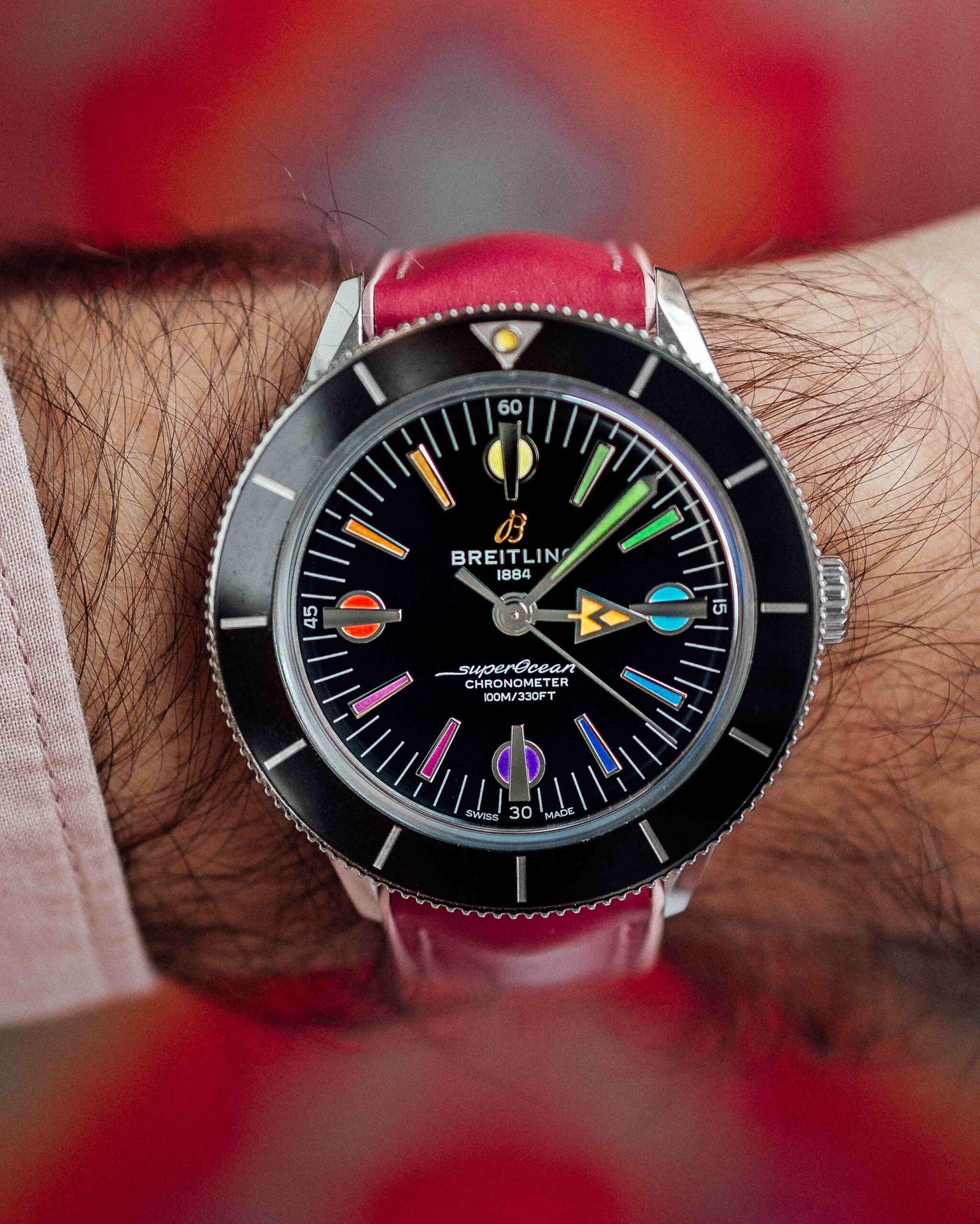 Die besten Uhren unter 5000 Euro: Breitling Superocean Heritage 57