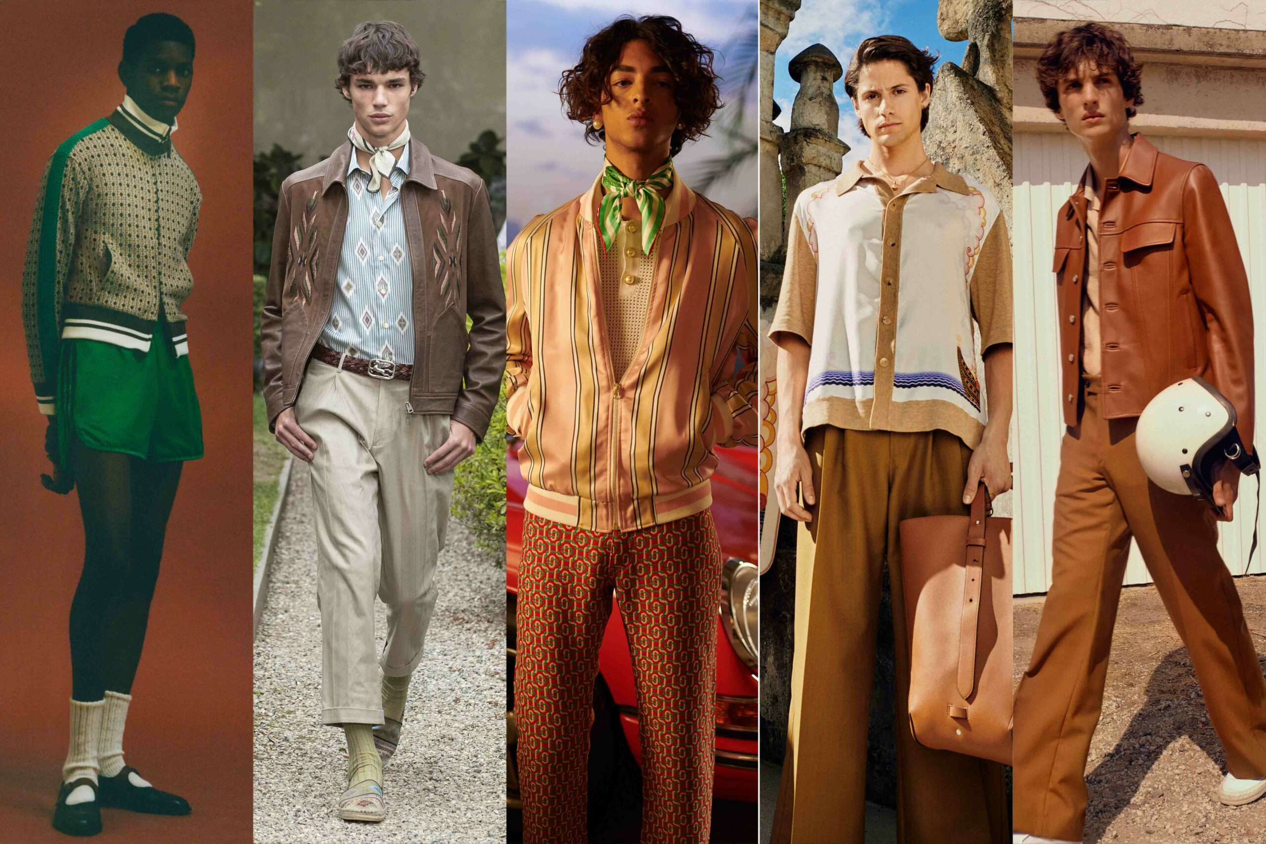 Menswear Trends 2021: 70s