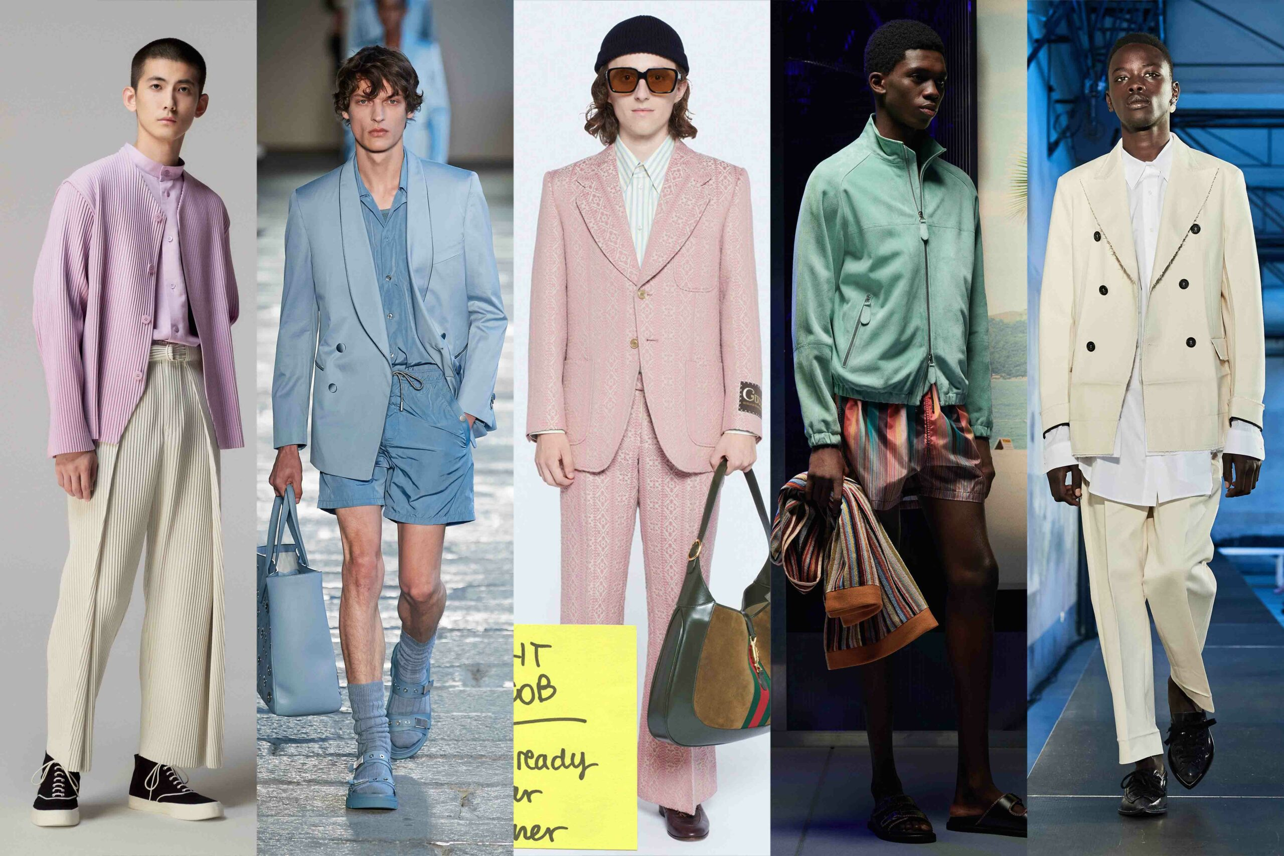 Menswear Trends 2021: Pastel