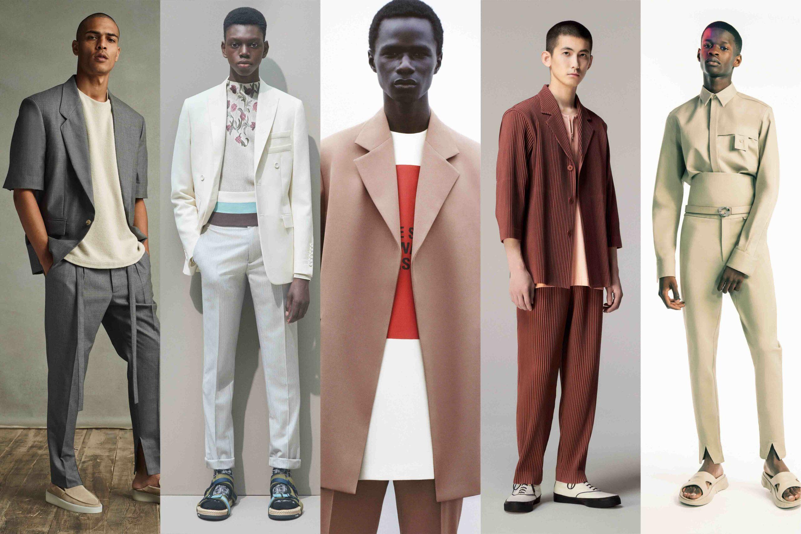 Menswear Trends 2021: Futuristic Tailoring