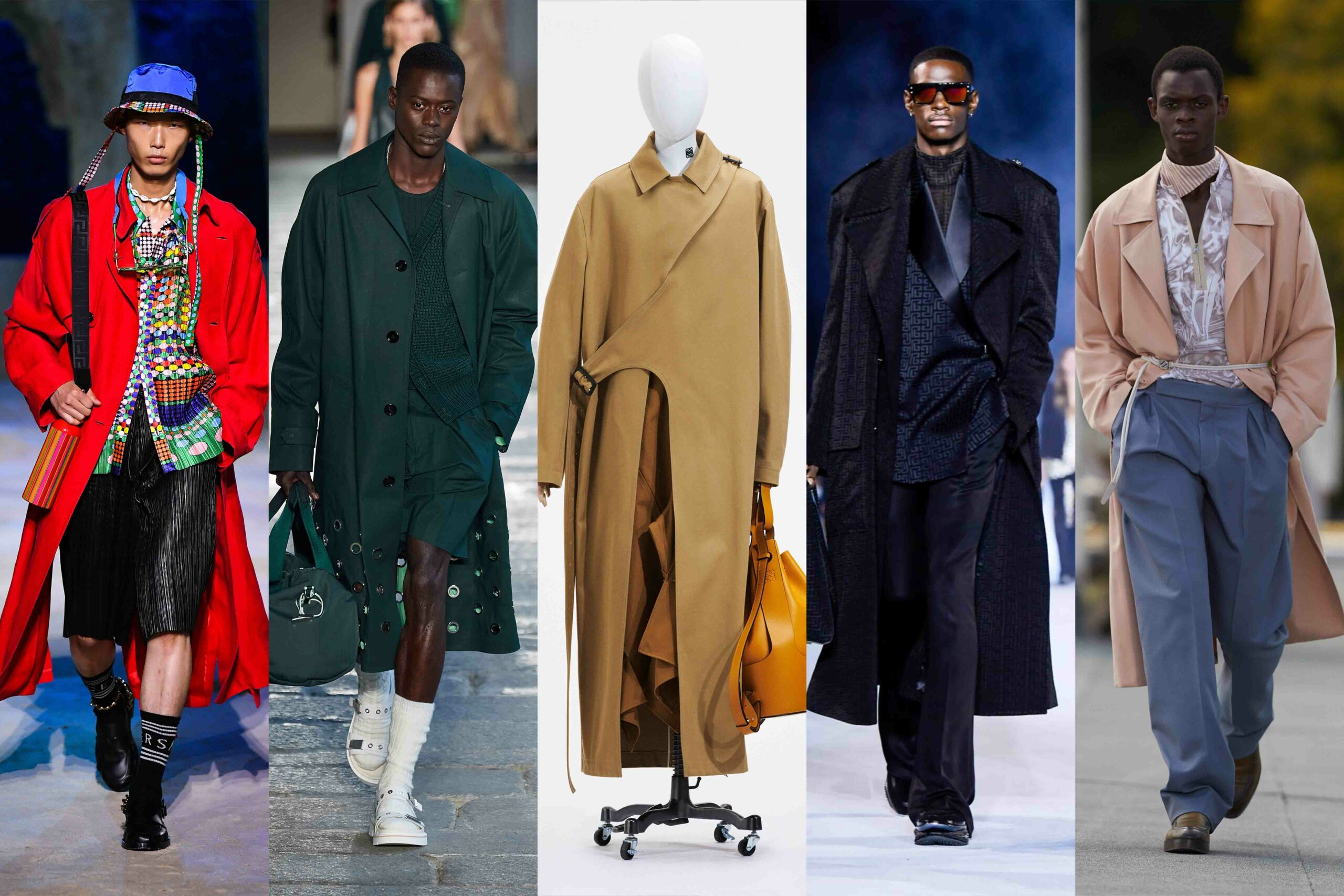 Menswear Trends 2021: Trench Coats