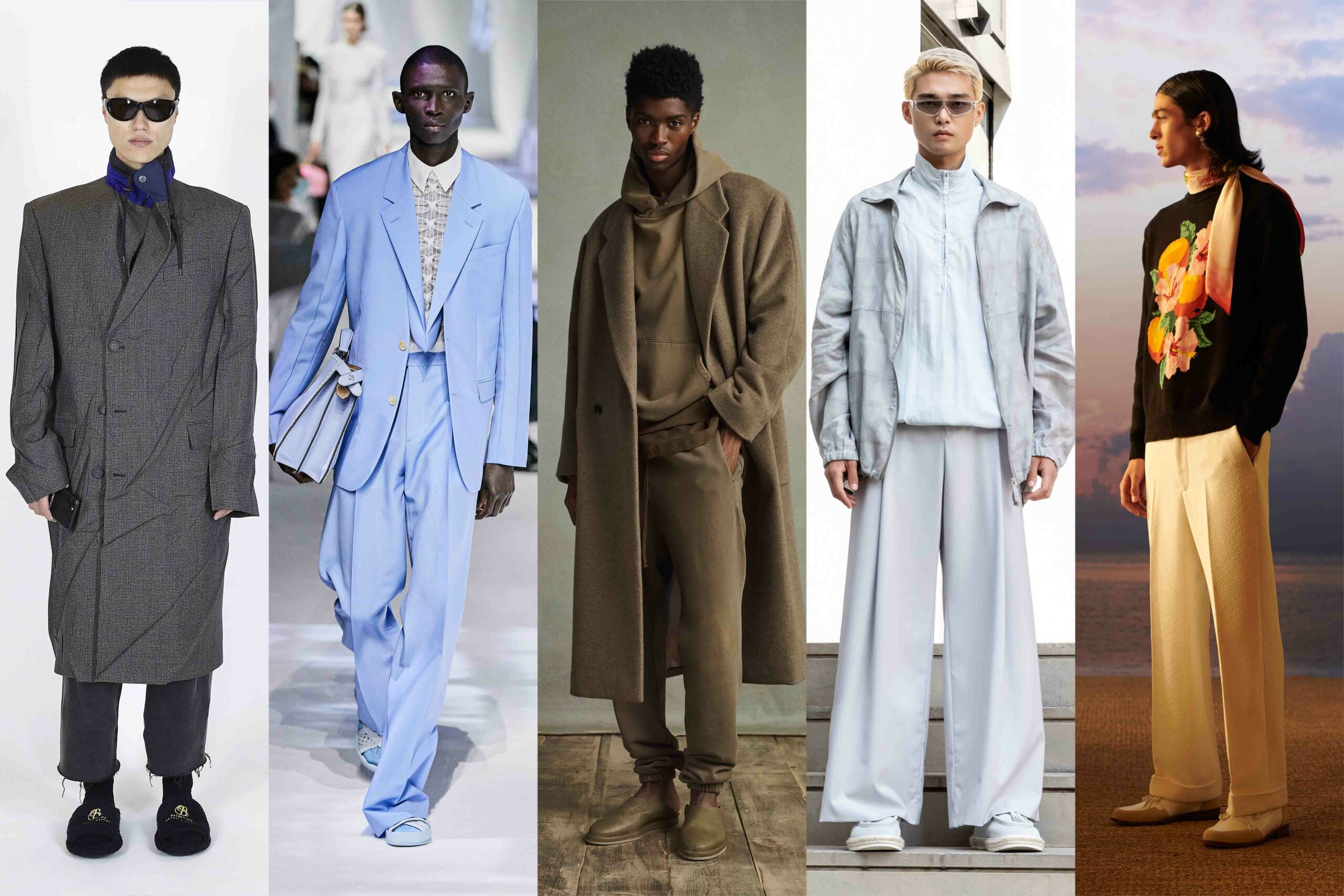 Menswear Trends 2021: Wide Fits