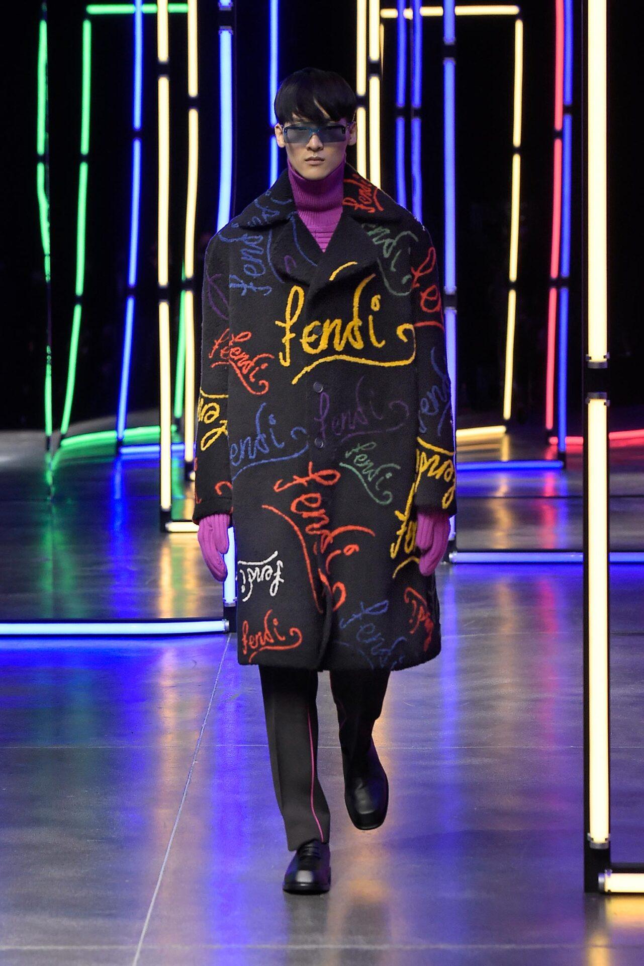 Highlights und Modetrends der Milan Fashion Week AW21: Fendi