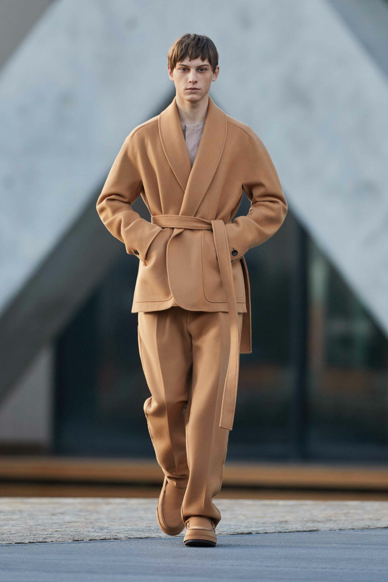 Highlights und Modetrends der Milan Fashion Week AW21: Ermenegildo Zegna