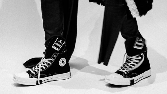 Sneaker Collaborations der Paris Fashion Week AW21: Converse X Rick Owens