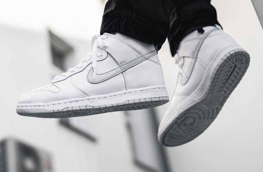 "Die besten Sneakers unter 200 Euro: Nike Dunk High ""Pure Platinum"""