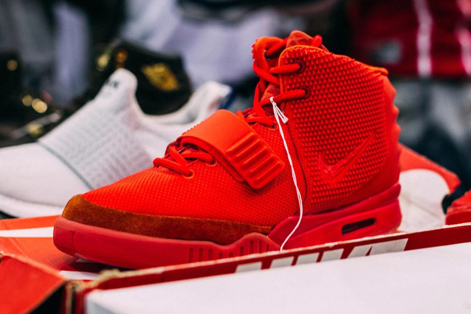 """Die teuersten Sneaker aller Zeiten: Nike Air Yeezy 2 """"Red October"""""""