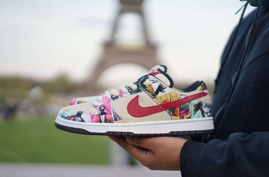 """Die teuersten Sneaker aller Zeiten: Nike Dunk Low """"Paris"""""""