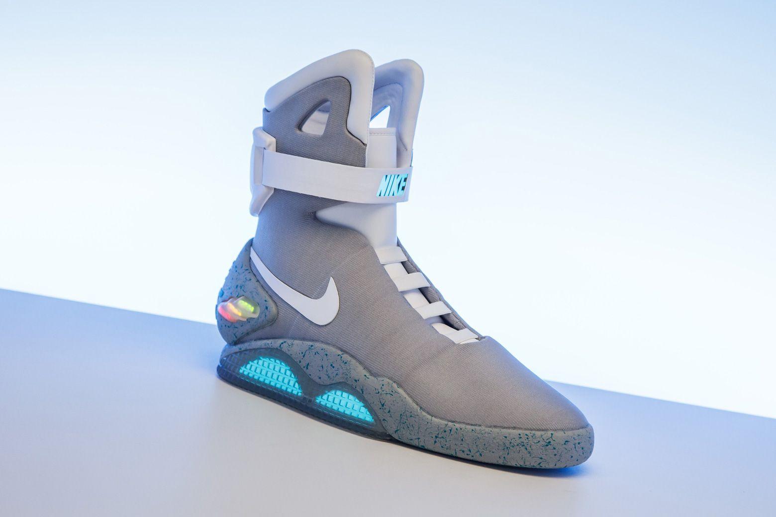 "Die teuersten Sneaker aller Zeiten: Nike MAG ""Back to the Future"" (2016)"