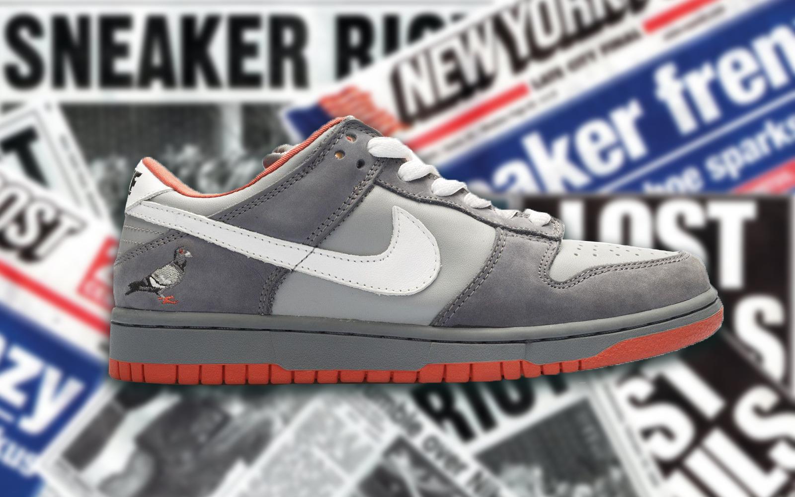 Die teuersten Sneaker aller Zeiten: Nike SB Dunk Low Staple NYC Pigeon