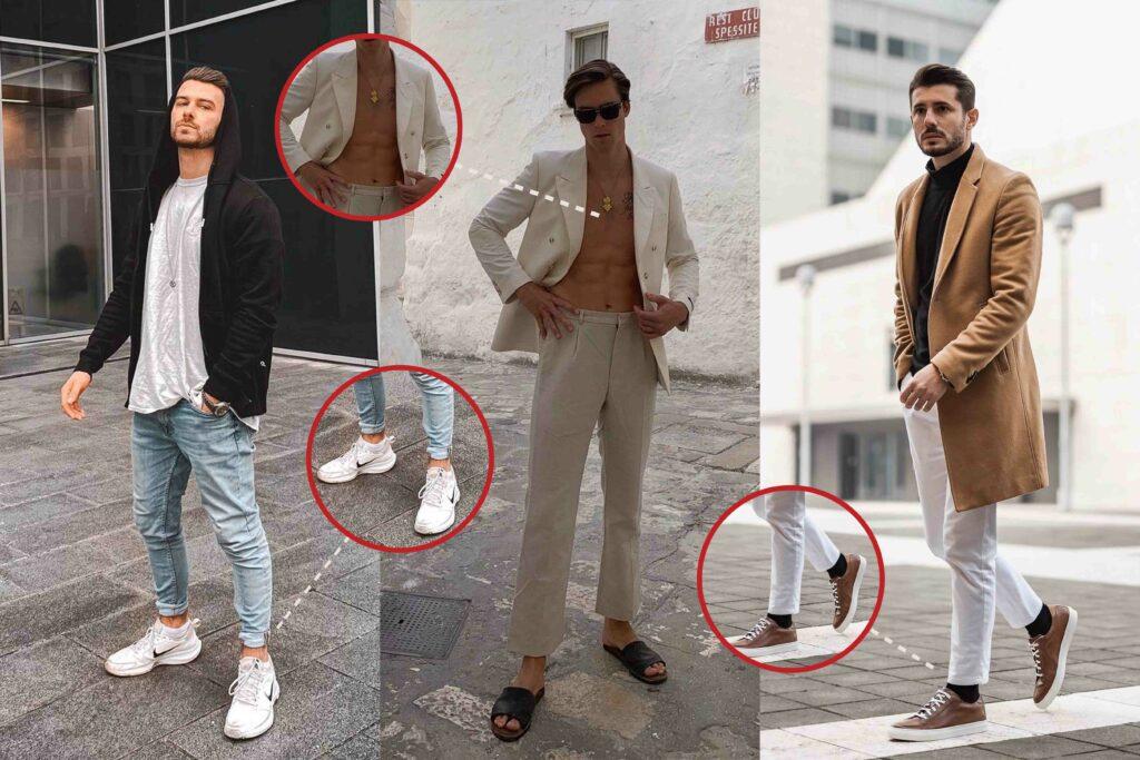 Fashion No-Gos für Männer: Die größten Modesünden