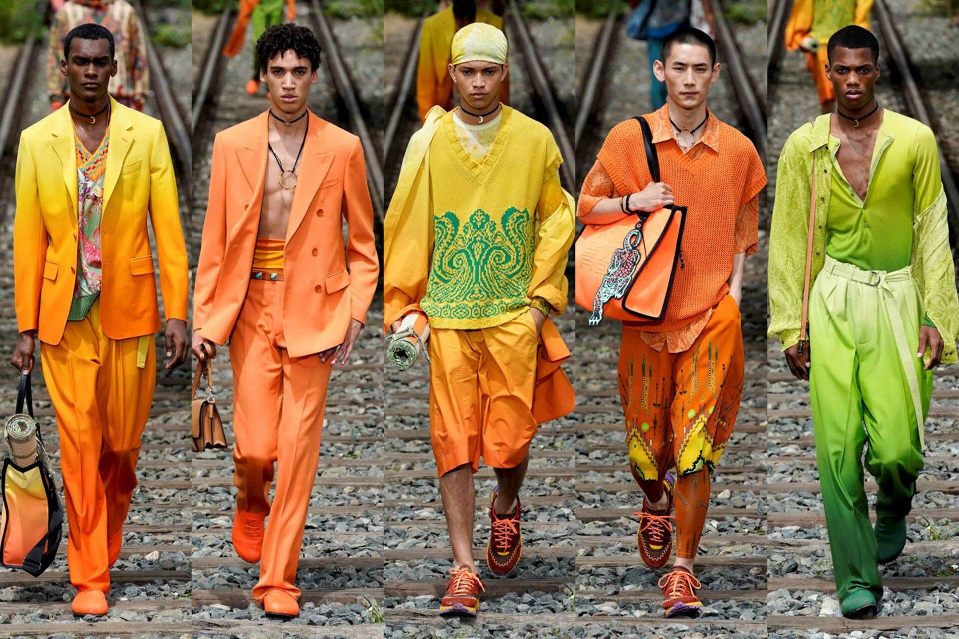 Milan Men's Fashion Week Highlights: Etro SS22