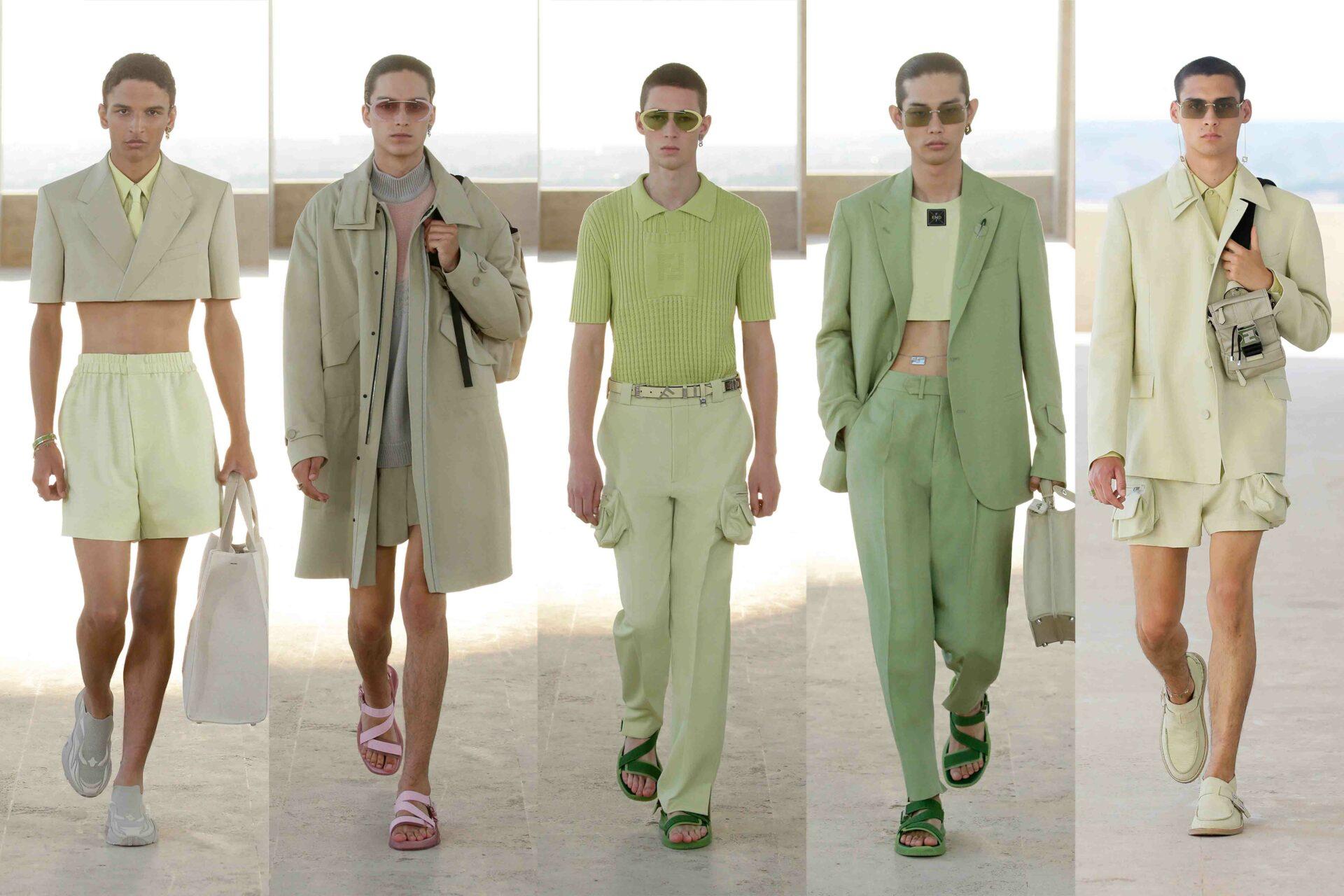 Milan Men's Fashion Week Highlights: Fendi SS22