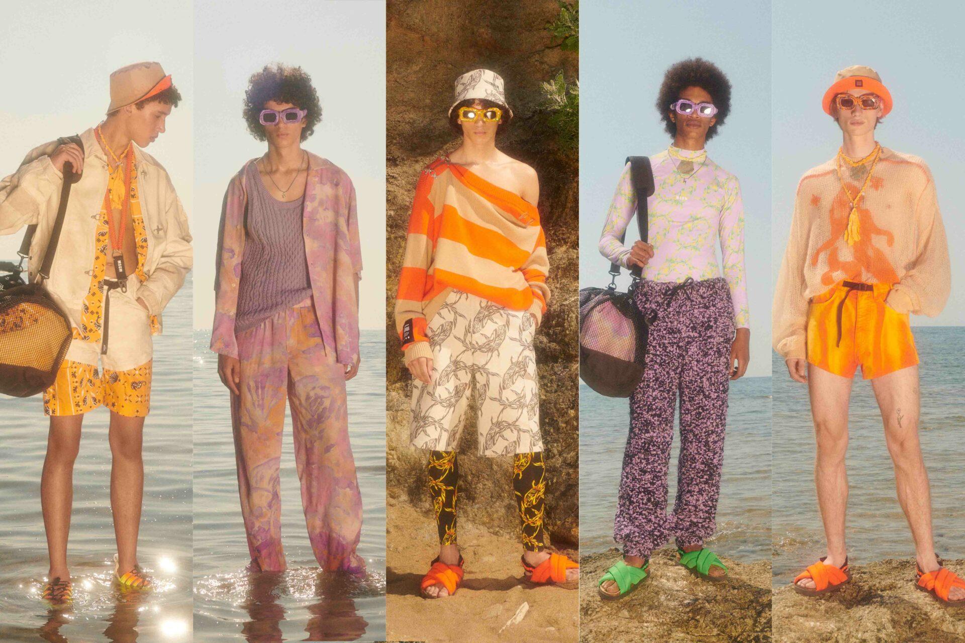Milan Men's Fashion Week Highlights: MSGM SS22