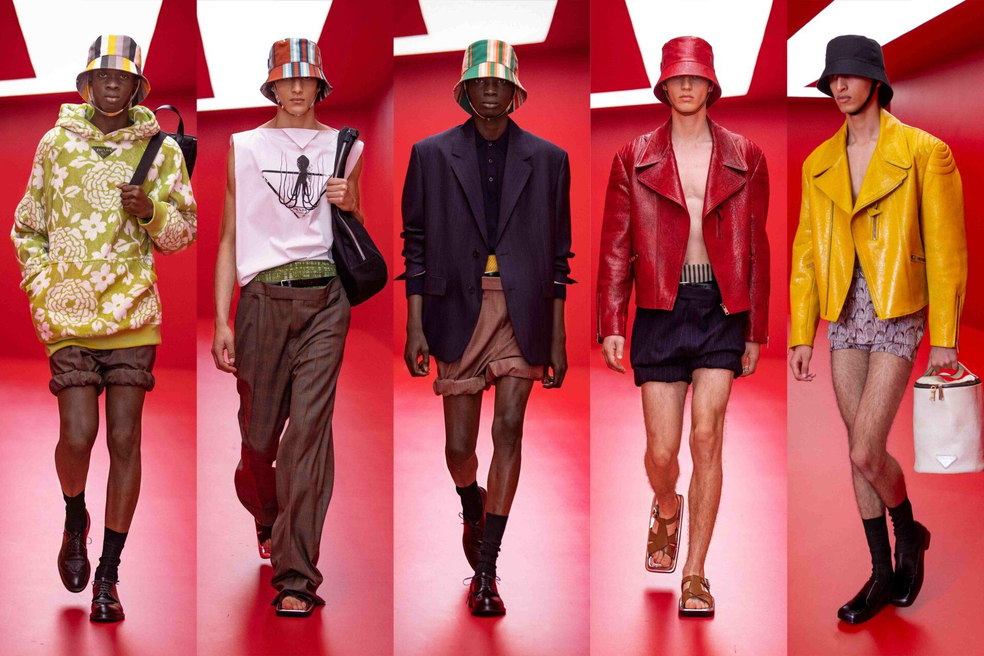 Milan Men's Fashion Week Highlights: Prada SS22