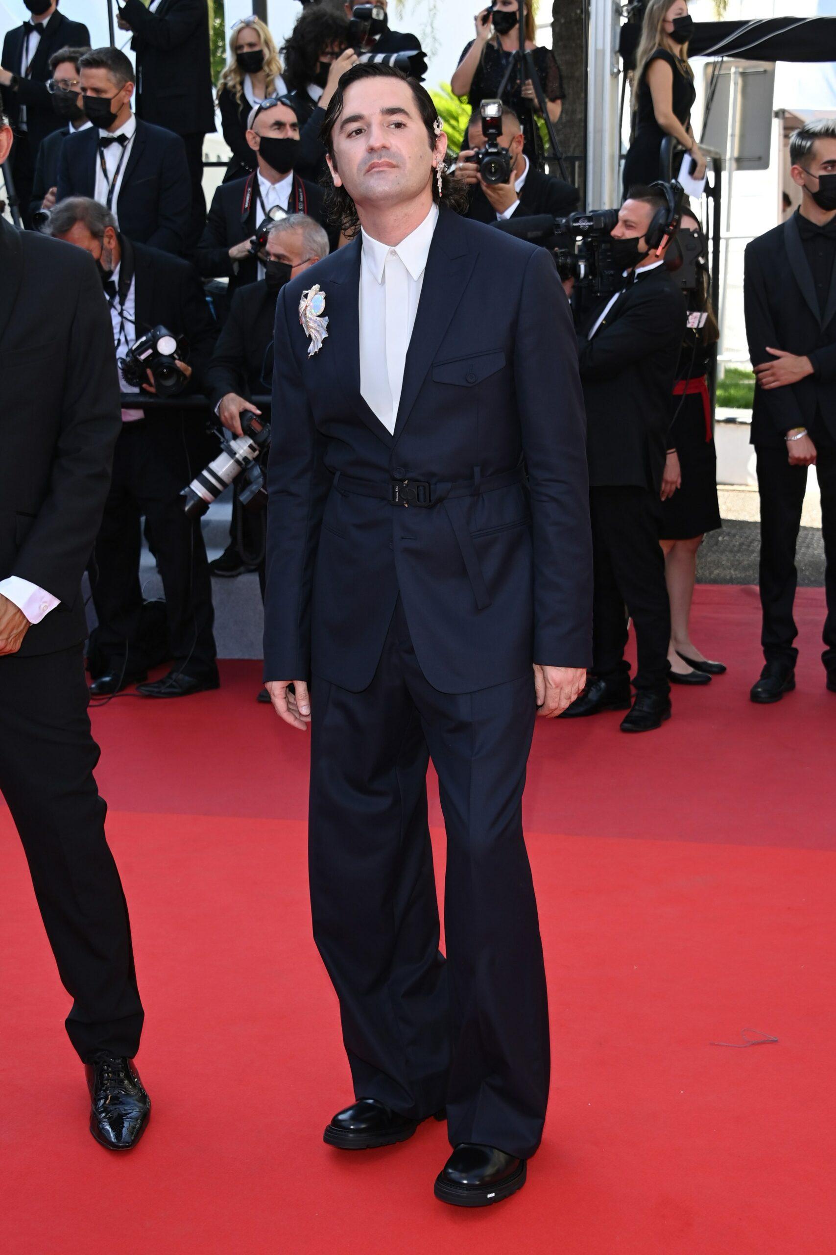 Die besten Outfits vom Cannes Film Festival 2021: Nicolas Maury