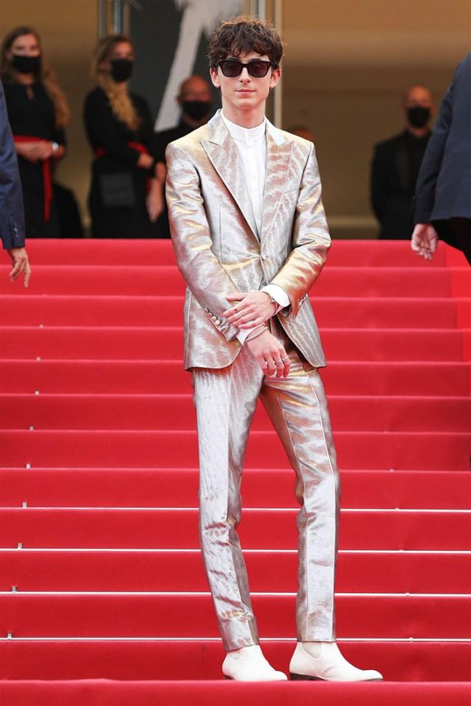 Die besten Outfits vom Cannes Film Festival 2021: Timothee Chalamet