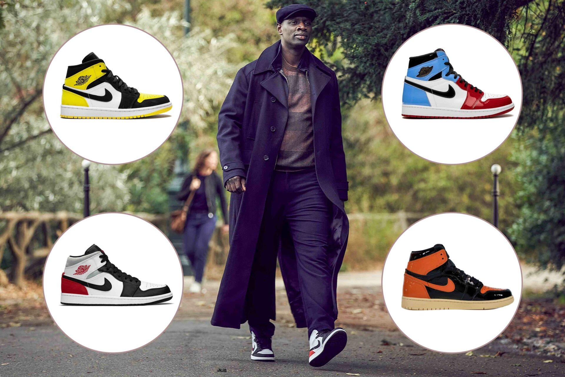 Netflix': alle Air Jordan 1 Sneakers von Lupin