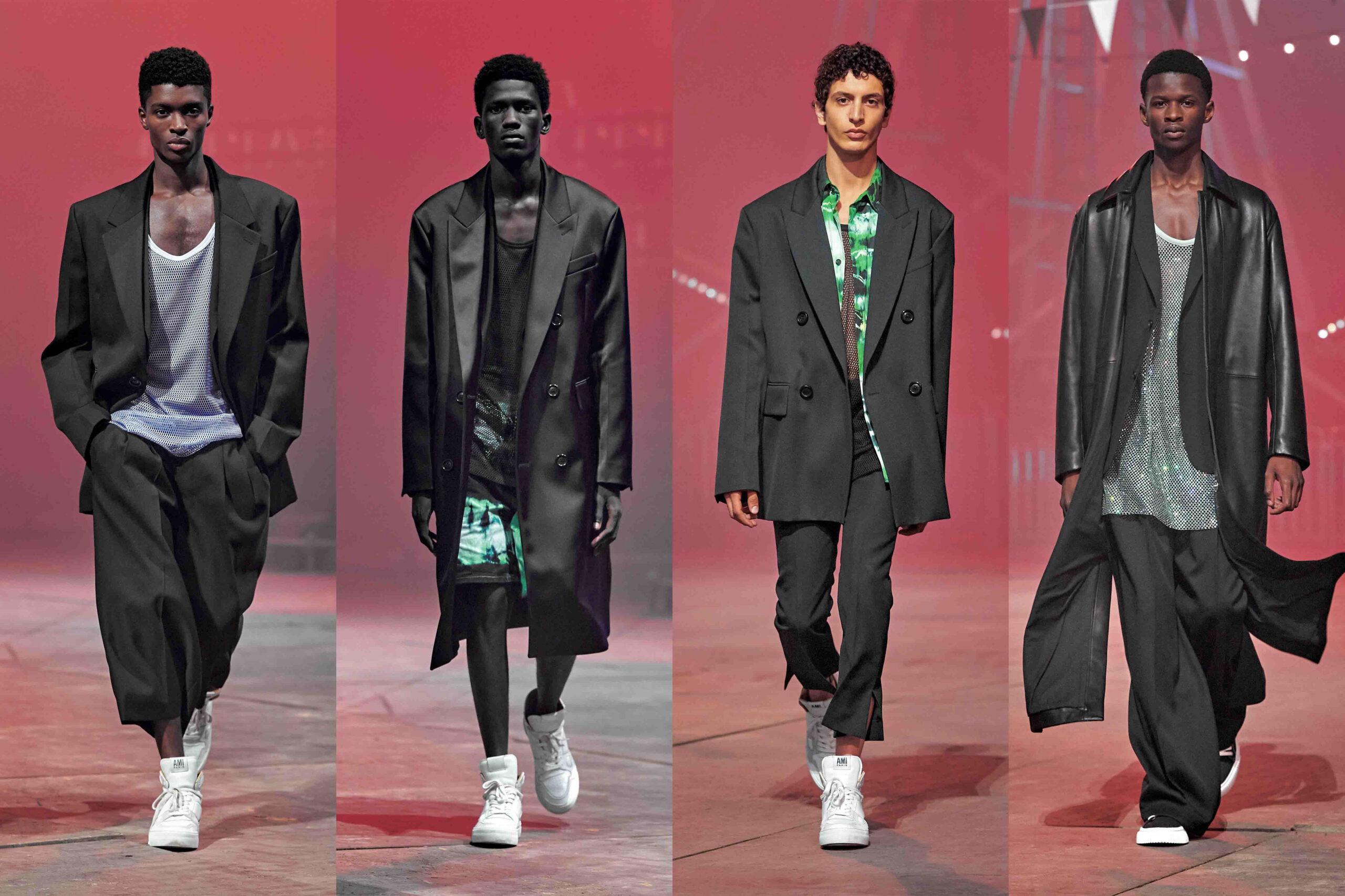 Paris Fashion Week Men's SS22 Highlights: Ami Paris
