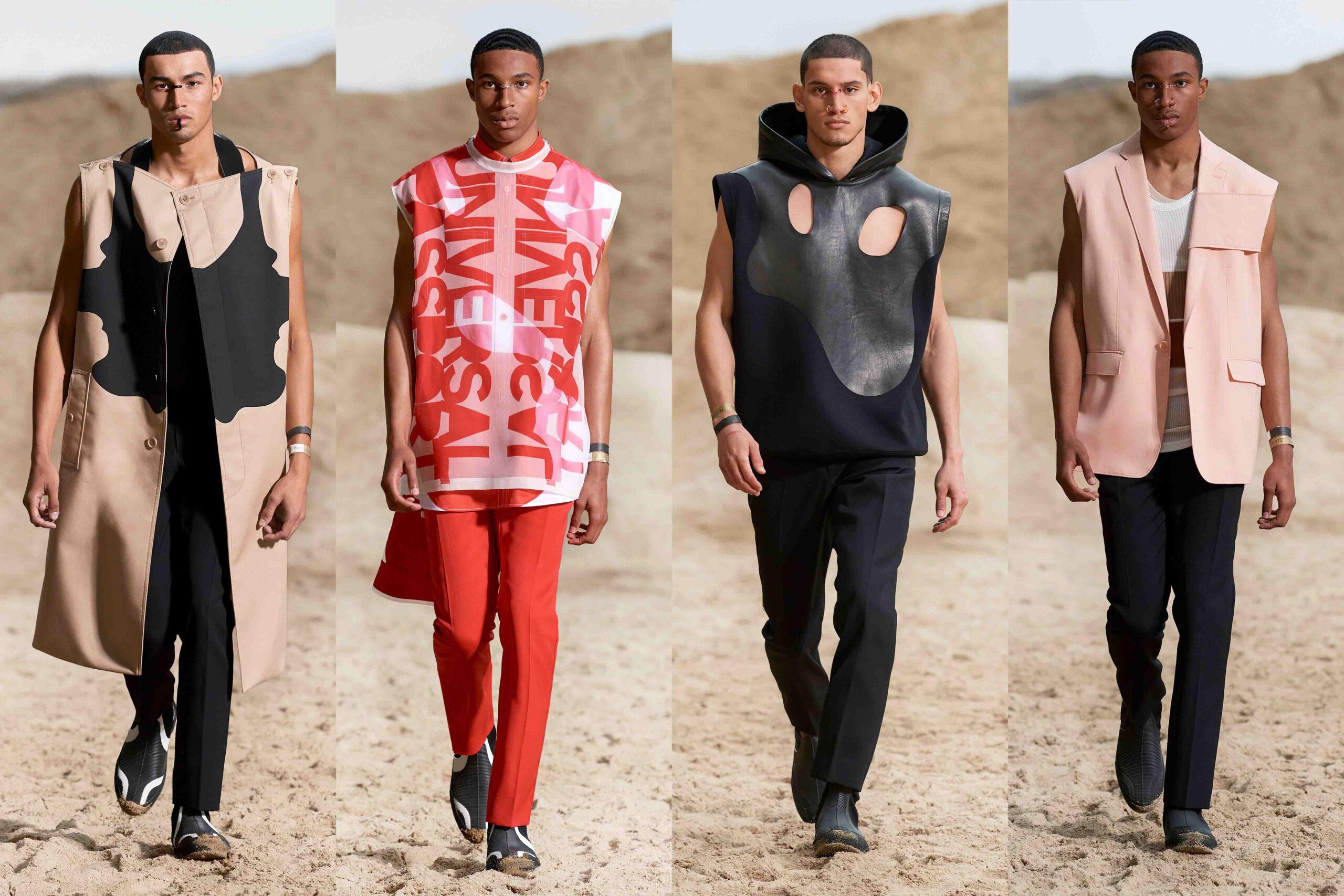 Paris Fashion Week Men's SS22 Highlights: Burberry