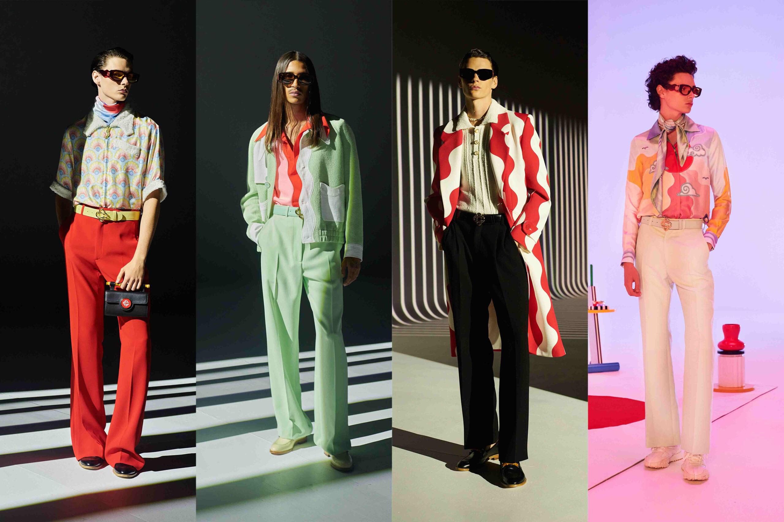 Paris Fashion Week Men's SS22 Highlights: Casablanca