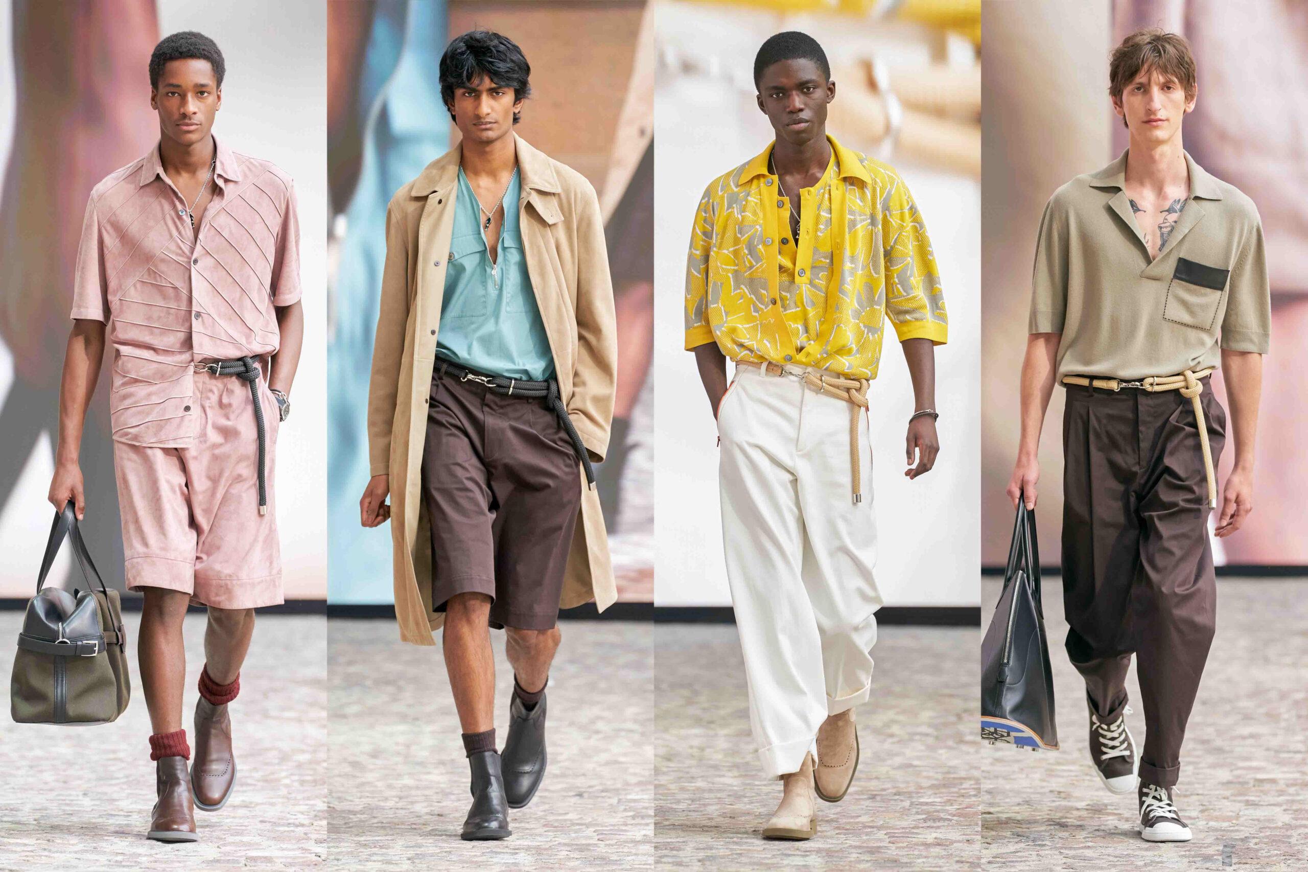 Paris Fashion Week Men's SS22 Highlights: Hermès