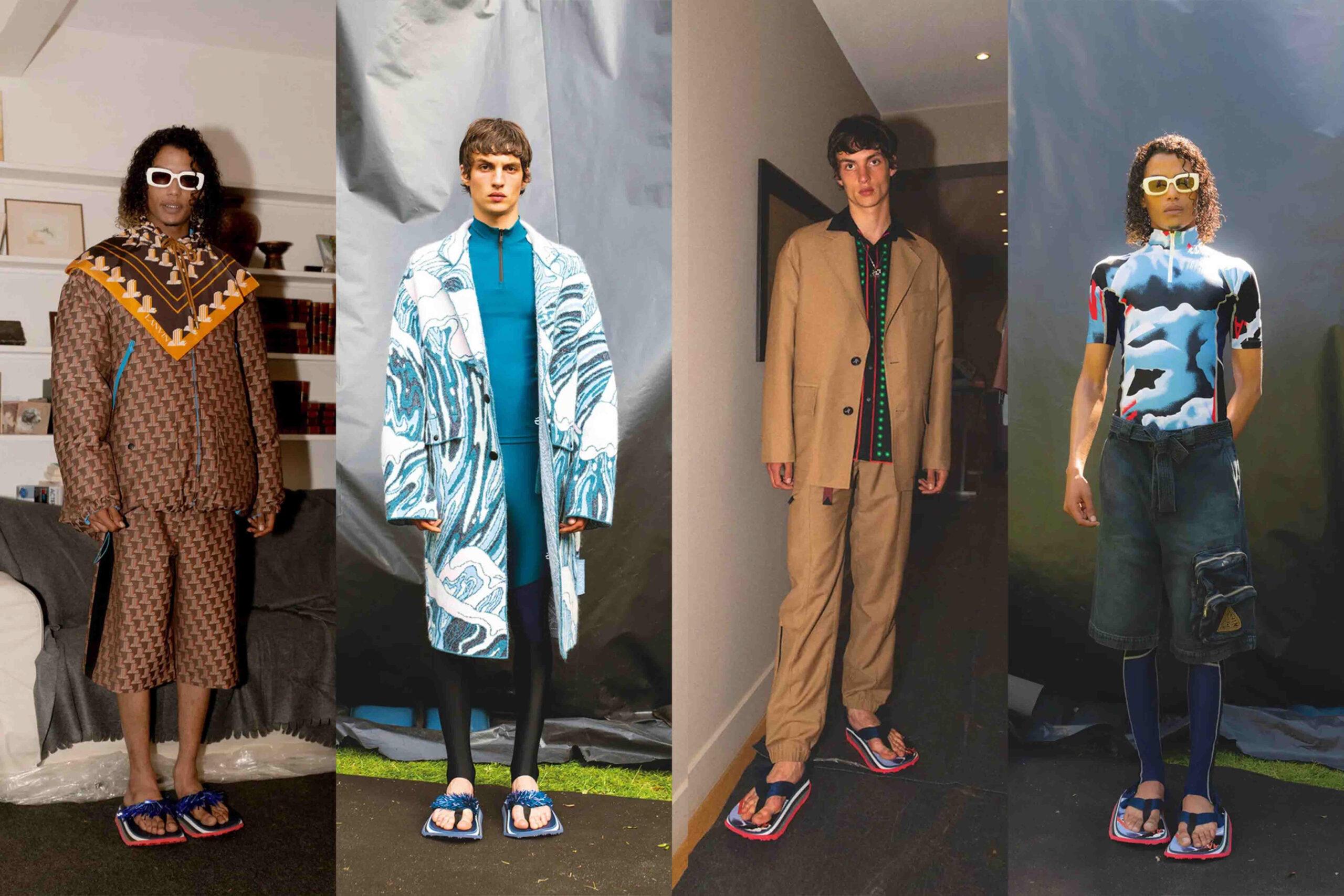 Paris Fashion Week Men's SS22 Highlights: Lanvin