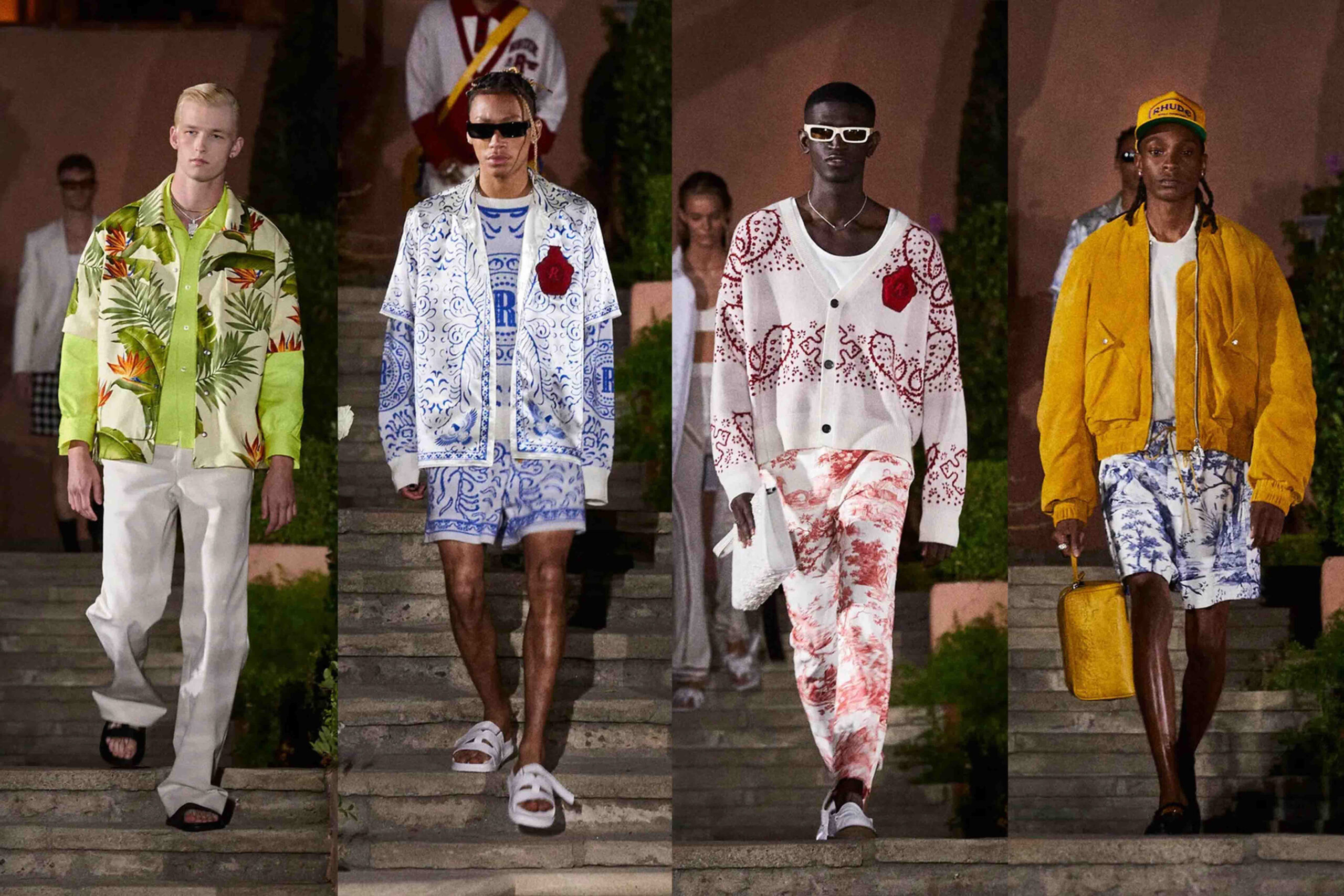 Paris Fashion Week Men's SS22 Highlights: Rhude