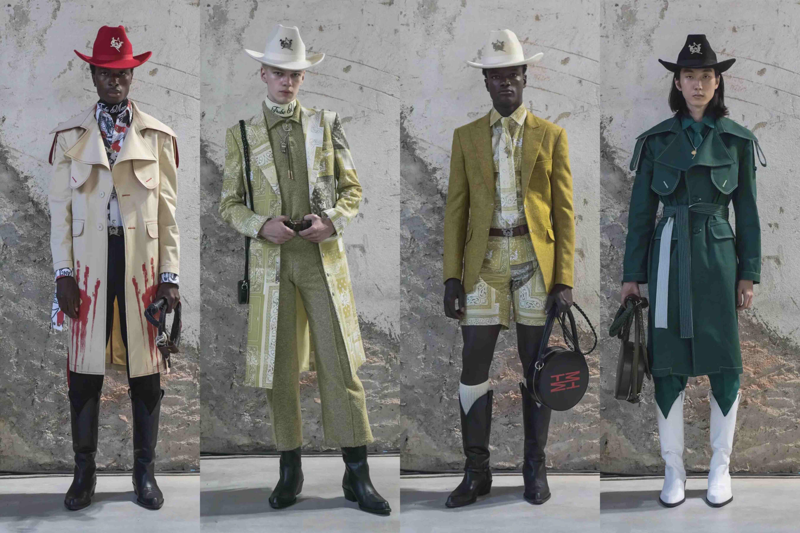 Paris Fashion Week Men's SS22 Highlights: Thebe Magugu