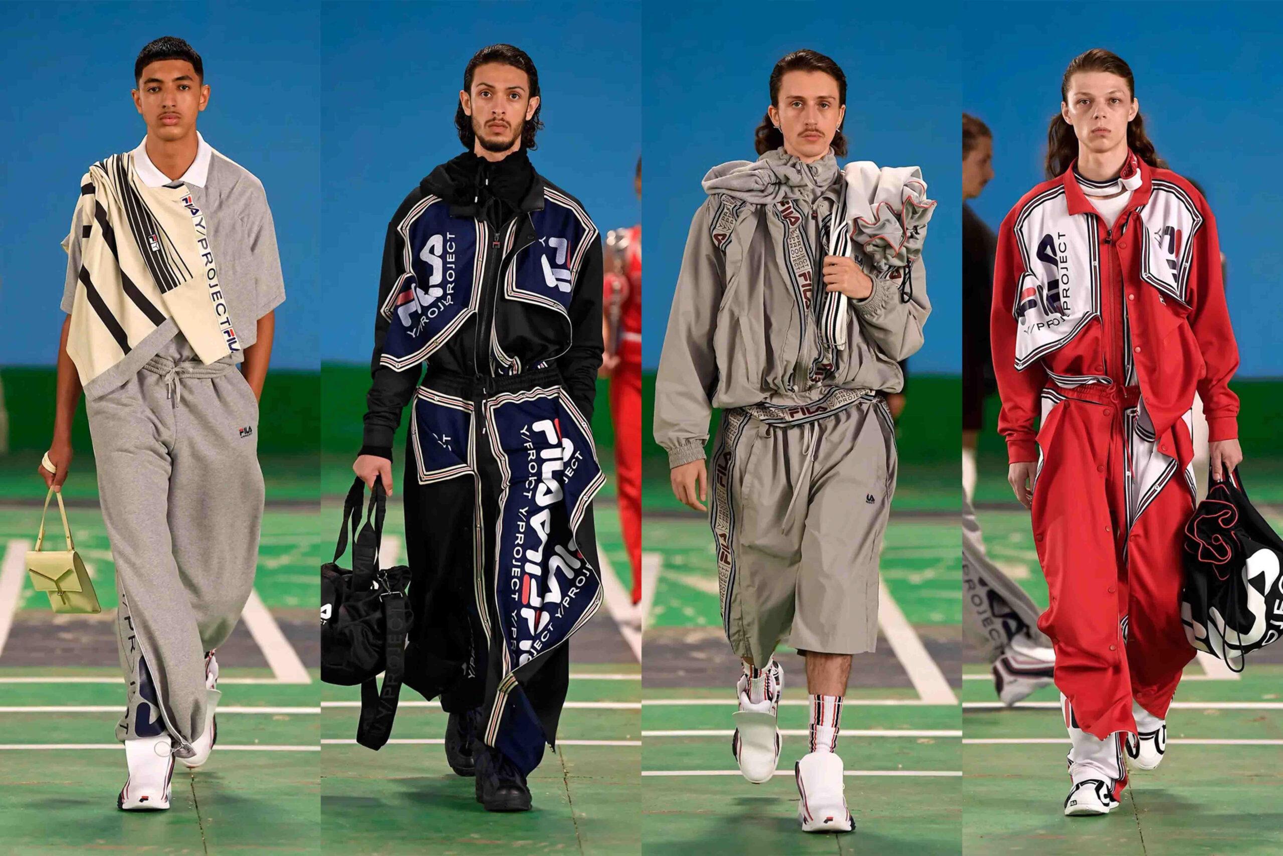Paris Fashion Week Men's SS22 Highlights: Y/Project X Fila